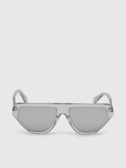 Diesel - DL0322, Grey - Sunglasses - Image 1
