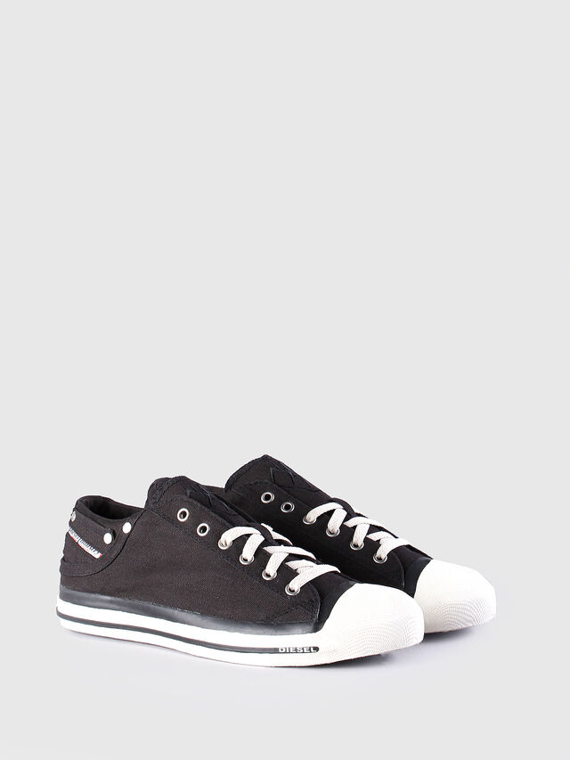 Diesel EXPOSURE LOW, Black - Sneakers - Image 2