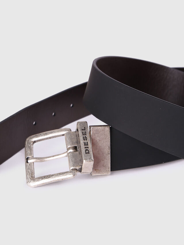 Diesel - B-DOUBLEC, Black/Brown - Belts - Image 3