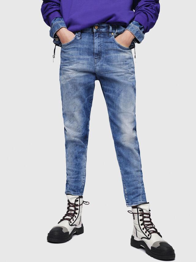 Diesel - Candys JoggJeans 080AS, Medium blue - Jeans - Image 1