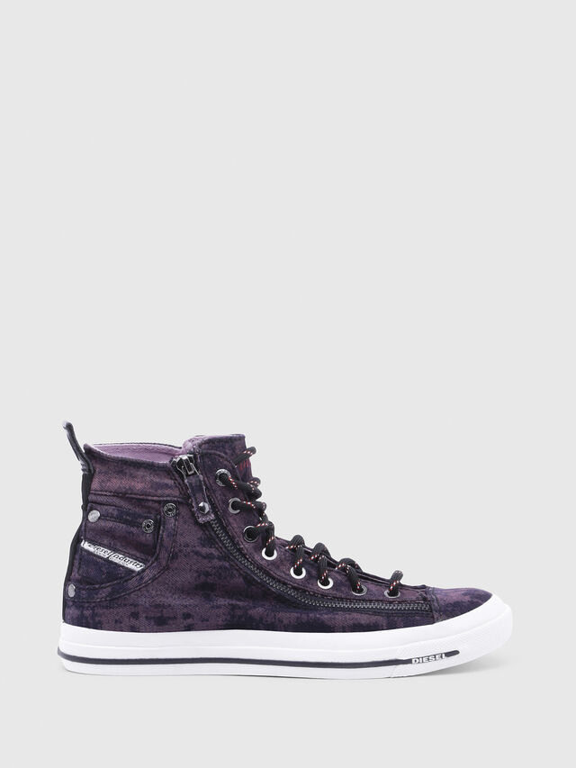 Diesel - EXPO-ZIP W, Dark Violet - Sneakers - Image 1