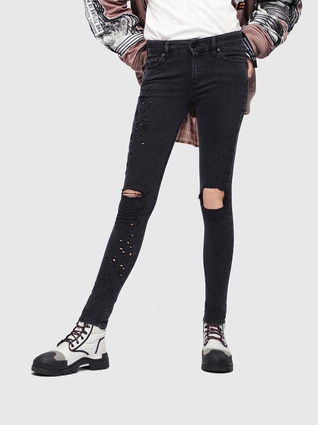 Diesel - Slandy 085AW, Black/Dark grey - Jeans - Image 1