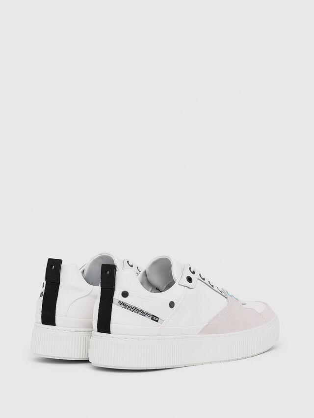 Diesel - S-DANNY LC, White - Sneakers - Image 3