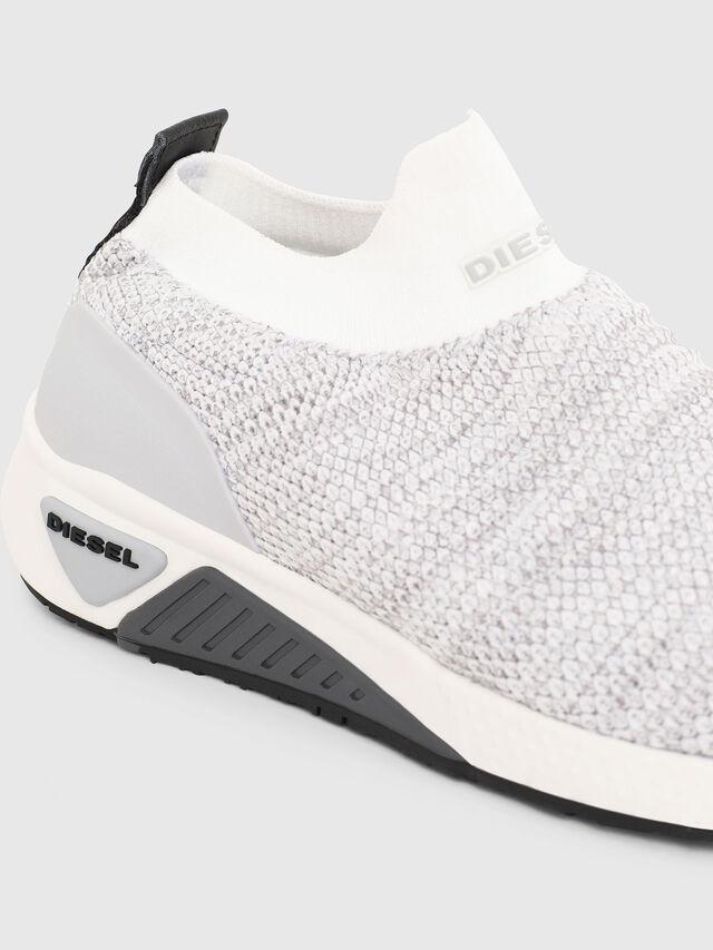 Diesel - S-KB ATHL SOCK W, Light Grey - Sneakers - Image 4