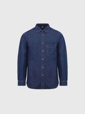 D-BILLY, Dark Blue - Denim Shirts