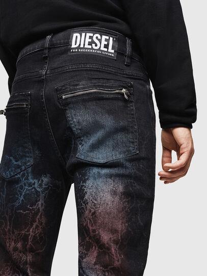 Diesel - D-Amny 0093D, Black/Dark grey - Jeans - Image 5