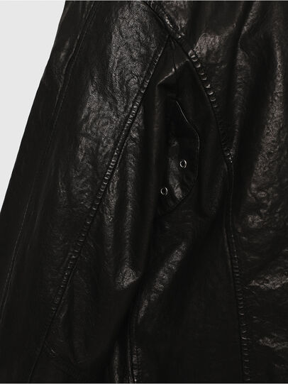 Diesel - L-LYSSEN,  - Leather jackets - Image 4