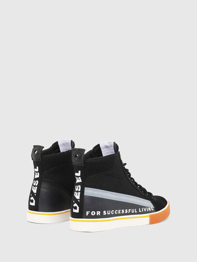 Diesel - S-DVELOWS MID, Black - Sneakers - Image 3