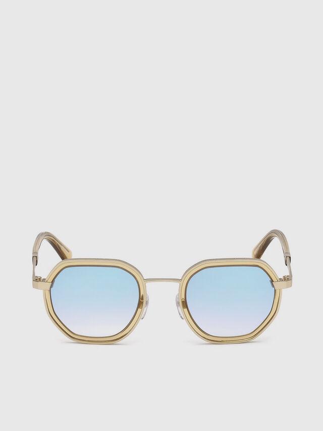 Diesel - DL0267, Gold - Sunglasses - Image 1