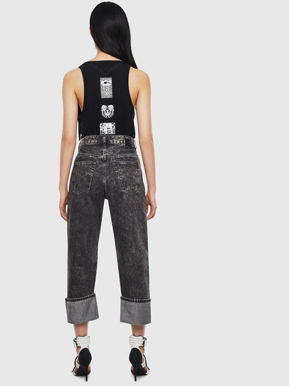 Diesel - D-Reggy 0099F, Black/Dark grey - Jeans - Image 2