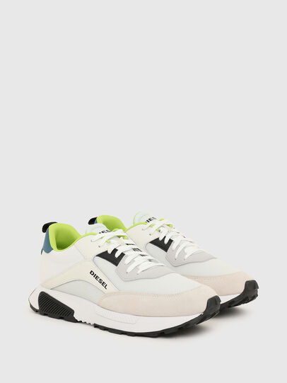 Diesel - S-TYCHE LOW CUT, White/Blue - Sneakers - Image 2