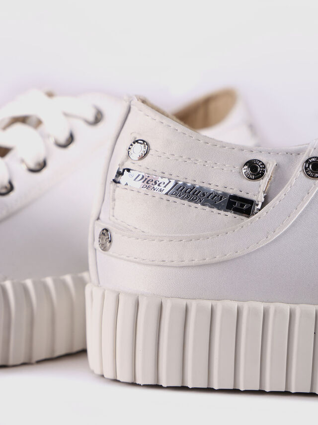 Diesel - S-EXPOSURE CLC W, White - Sneakers - Image 5