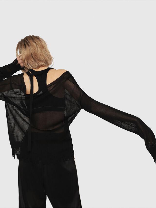 Diesel - M-ALPY-A, Black - Knitwear - Image 2