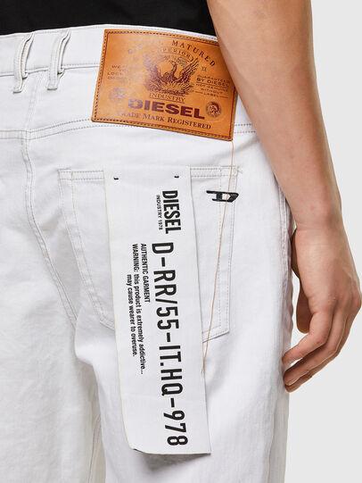 Diesel - D-Vider 003AF, White - Jeans - Image 4