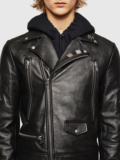 Diesel - L-PERF,  - Leather jackets - Image 4