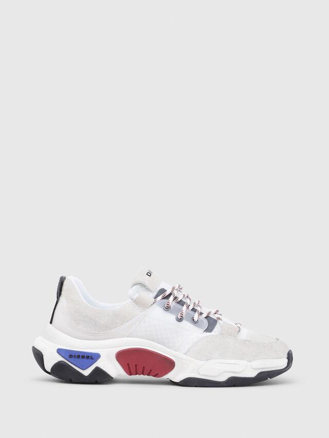 Diesel - S-KIPPER LOW LACE, White - Sneakers - Image 1