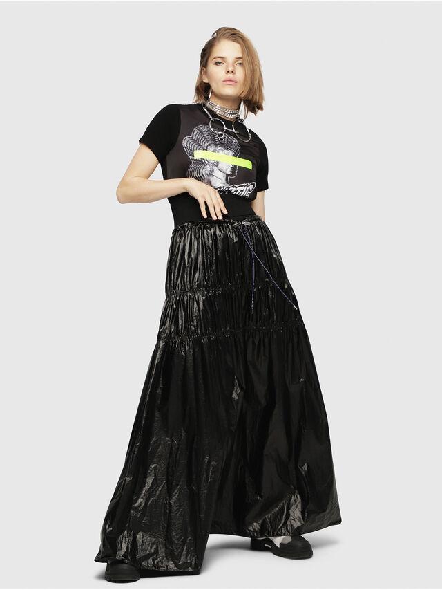 Diesel - M-UNDER, Black/White - Knitwear - Image 4