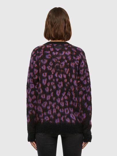 Diesel - M-RHONDA, Violet/Black - Knitwear - Image 2