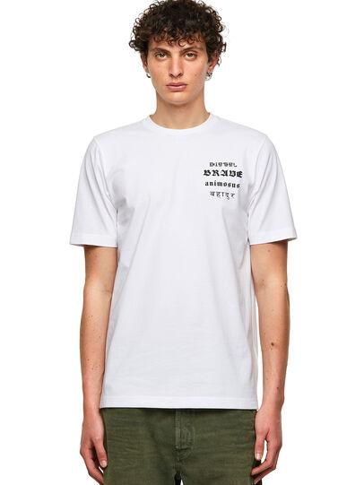 Diesel - T-JUST-B59, White - T-Shirts - Image 1