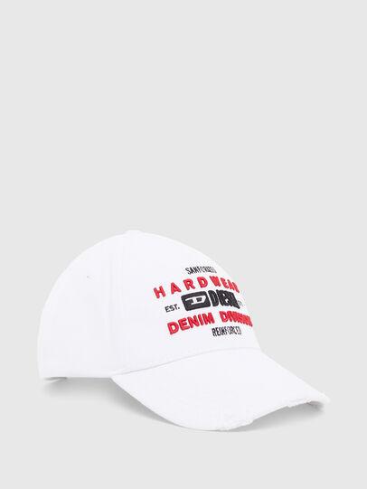 Diesel - C-DIVISION, White - Caps - Image 1