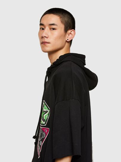Diesel - S-GIGA, Black - Sweaters - Image 4