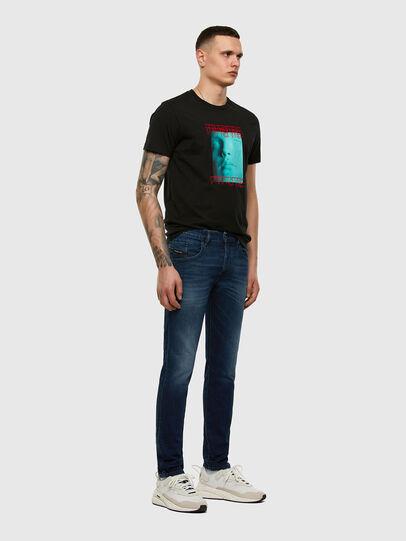 Diesel - D-Bazer 009ER, Dark Blue - Jeans - Image 4