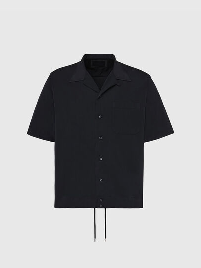 Diesel - S-MOOL-A, Black - Shirts - Image 1