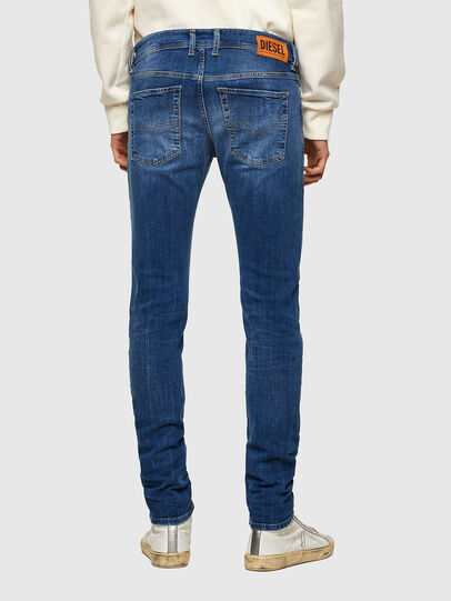 Diesel - Sleenker 009PK, Medium blue - Jeans - Image 2