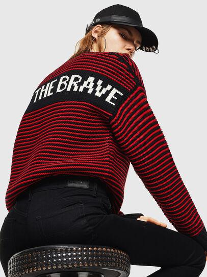 Diesel - K-BALLIS, Red/Black - Knitwear - Image 6