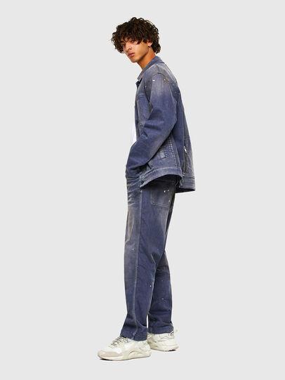 Diesel - D-ANTONY-SP, Medium blue - Denim Jackets - Image 7