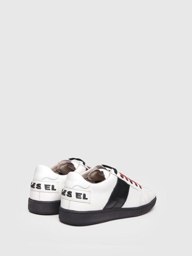 Diesel - S-MILLENIUM LC, White/Black - Sneakers - Image 3