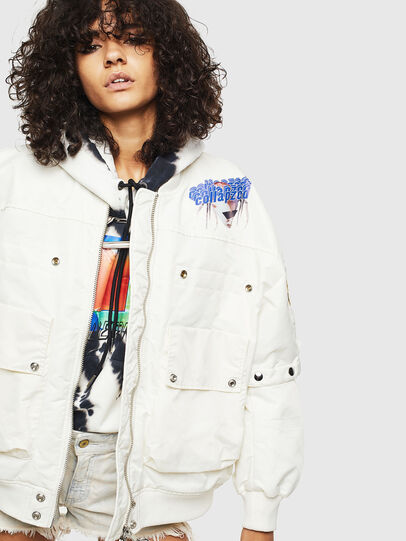 Diesel - G-RAMS, White - Jackets - Image 5