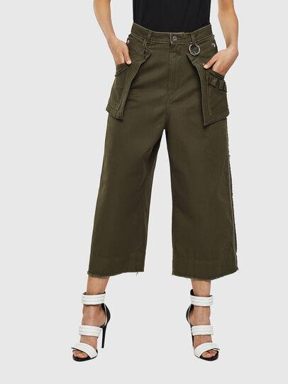 Diesel - P-RAEY, Military Green - Pants - Image 1