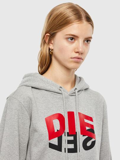 Diesel - S-GIRK-HOOD-N1, Grey - Sweaters - Image 6