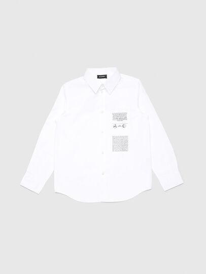 Diesel - CSVENPRINT, White - Shirts - Image 1