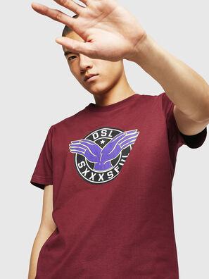 T-DIEGO-B5, Bordeaux - T-Shirts