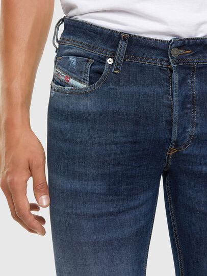 Diesel - Sleenker 009DK, Dark Blue - Jeans - Image 3