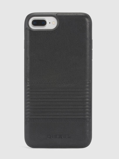 Diesel - BLACK LINED LEATHER IPHONE 8/7/6s/6 CASE,  - Cases - Image 2