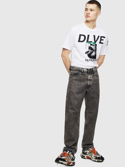 Diesel - T-JUST-T21, White - T-Shirts - Image 7