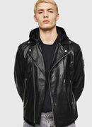 L-SOLOVE, Black - Leather jackets