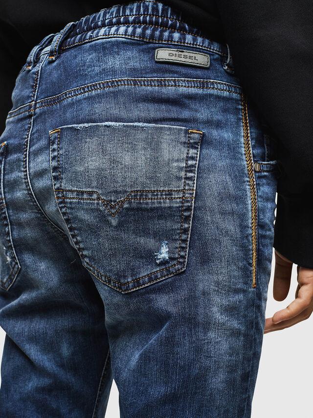 Diesel - Krailey JoggJeans 069AA, Dark Blue - Jeans - Image 4