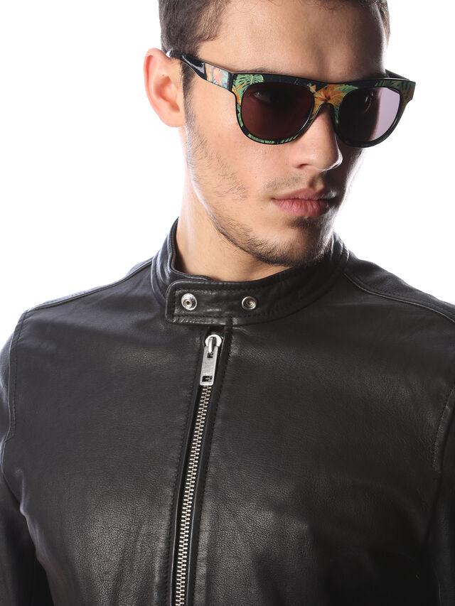 Diesel - DM0160, Black/Orange - Sunglasses - Image 5