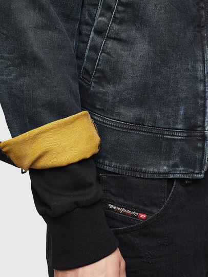 Diesel - D-JEI JOGGJEANS, Dark Blue - Denim Jackets - Image 5