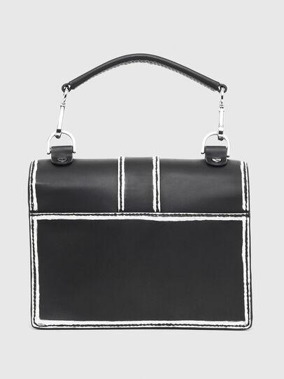 Diesel - MISS-MATCH CROSSBODY, Black/White - Crossbody Bags - Image 2