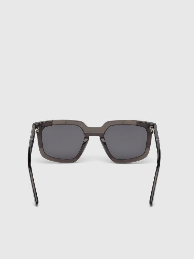 Diesel DL0271, Black - Eyewear - Image 4