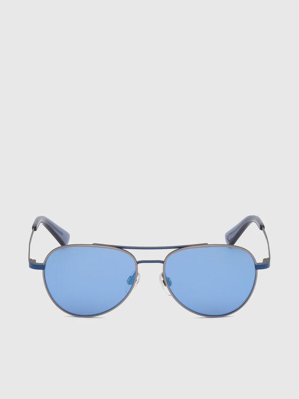 DL0291, Blue/Grey - Kid Eyewear