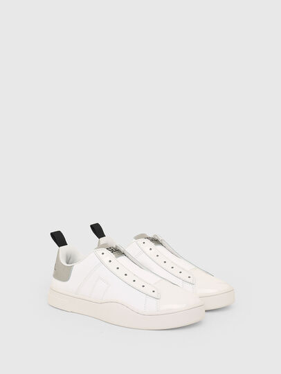 Diesel - S-CLEVER SO W, White/Silver - Sneakers - Image 2