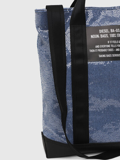 Diesel - F-THISBAG SHOWAY, Blue/Black - Shopping and Shoulder Bags - Image 4