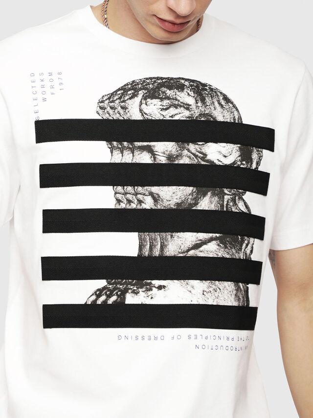 Diesel - T-JUST-YO, White - T-Shirts - Image 3
