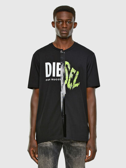 Diesel - T-JUBBLE-X2, Black - T-Shirts - Image 4
